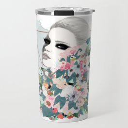 Flower Wall Travel Mug