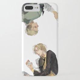 Zoro and Sanji iPhone Case