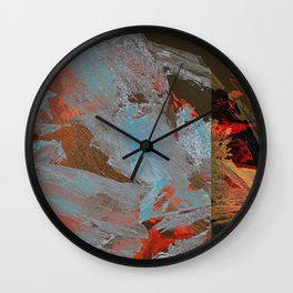 Meteorite_volcano Wall Clock