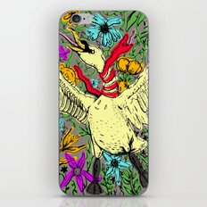 A Swan and Snake iPhone & iPod Skin
