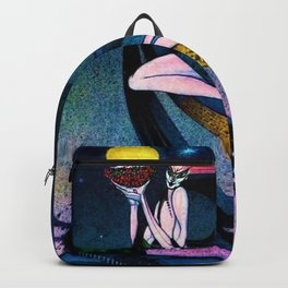 Classical Masterpiece 'In Powder and Crinoline' by Kay Nielsen Backpack
