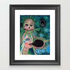 An Open Engagment Framed Art Print