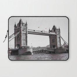London Bridge Black & White Laptop Sleeve