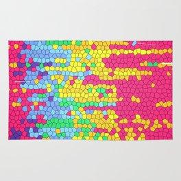 Colorful mosaic pattern Rug
