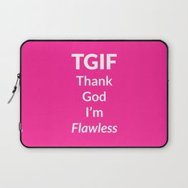 The Flawless Edition Laptop Sleeve