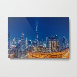 Dubai 75 Metal Print