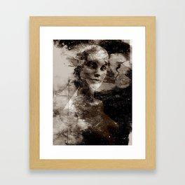 LIVING DOLL Framed Art Print