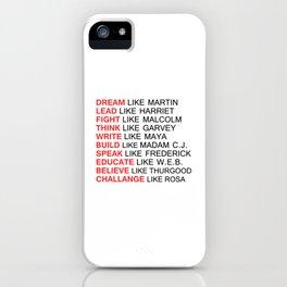 BLACK HISTORY FIGURE iPhone Case