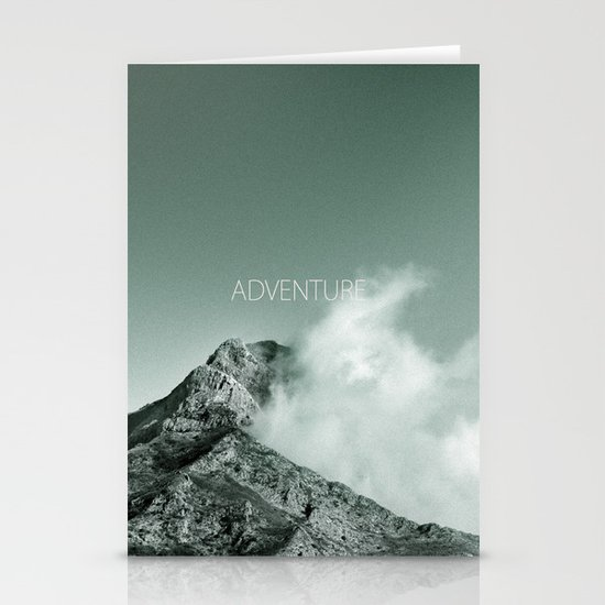 """Adventure at the mountain"" Stationery Cards"