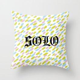 s o l o Throw Pillow
