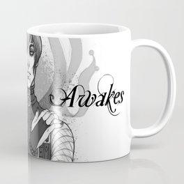 Inspiration Awakes in Grey Coffee Mug