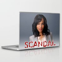 scandal Laptop & iPad Skins featuring SCANDAL by I Love Decor
