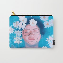 WOMAN IN WATER Carry-All Pouch