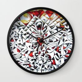 Yahuarcocha (Lago de Sangre - Blood Lake) Wall Clock