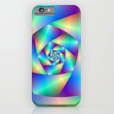 Spiral in Blue and Purple Slim Case iPhone 6s