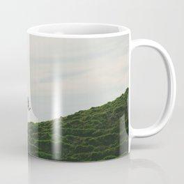 MAN - RUNNING - DOWNHILL Coffee Mug
