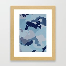 Indigo Blues Framed Art Print