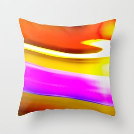Abstrat colors #2 Throw Pillow