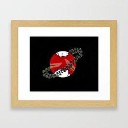 Planet Solaris Eschara Framed Art Print