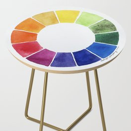 Color Wheel Side Table