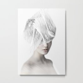 Beautiful Angel Metal Print