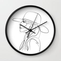 Lady Ga Wall Clock