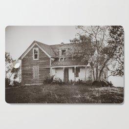 Abandoned Farmstead, North Dakota 7 Cutting Board
