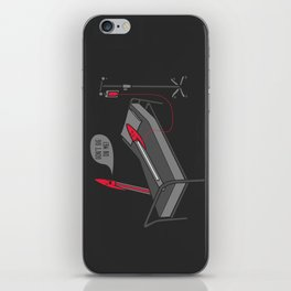 Don't Die On Me iPhone Skin