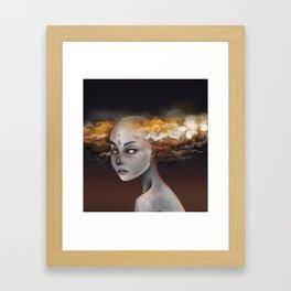 Storm Elemental Framed Art Print