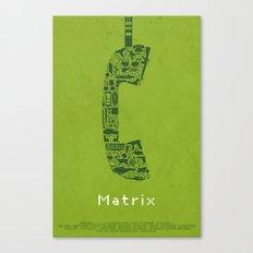Matrix Fan Poster Canvas Print