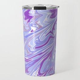 Purple Marble Mai Travel Mug