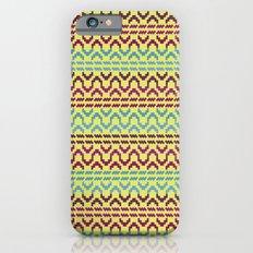 AZTEC Pattern 1-2 iPhone 6s Slim Case