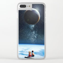 Together Alone Clear iPhone Case