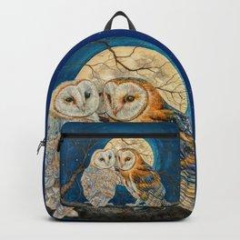 Owls Moon Stars Backpack