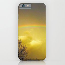Rainbows need a little help to iPhone Case