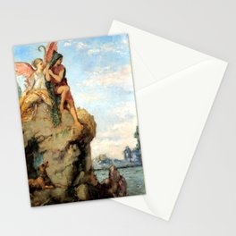 """Gustave Moreau """"Hesiod and the Muse"""" (1870) Stationery Cards"""