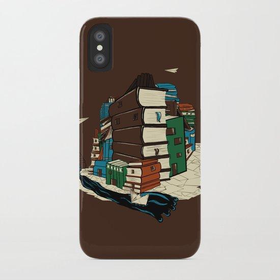 Book City iPhone Case