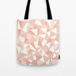 Ab Out Blush Gold 2 Tote Bag