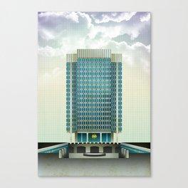 Municipal Services Building - Philadelphia Canvas Print