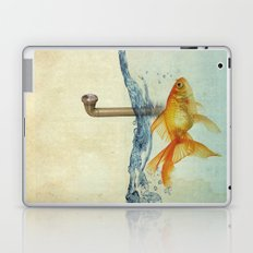 periscope goldfish Laptop & iPad Skin