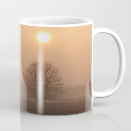 Early morning in a clearing Coffee Mug
