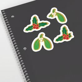 Christmas Green Cookies Sticker