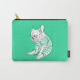 sleepy lazy pug dog sketch Carry-All Pouch