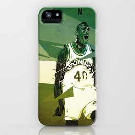 Seattle Reign Man iPhone Case
