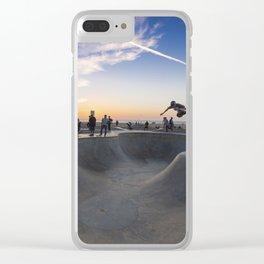 Skateboard Clear iPhone Case
