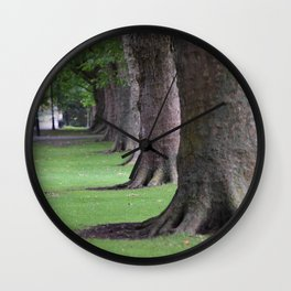 Cambridge tree 1 Wall Clock
