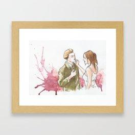 The Dreamers Framed Art Print