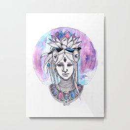 Ajna Metal Print
