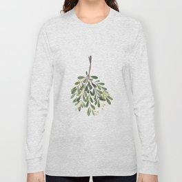 Mistletoe Sprig Long Sleeve T-shirt