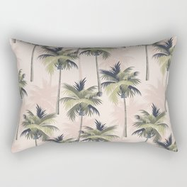 Palm Tree Paradise Rectangular Pillow